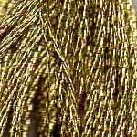 DMC six-stranded embroidery floss E3821 metallic Precious Metals Light Gold