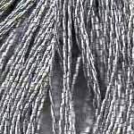 DMC six-stranded embroidery floss metallic E415 Antiques Pewter