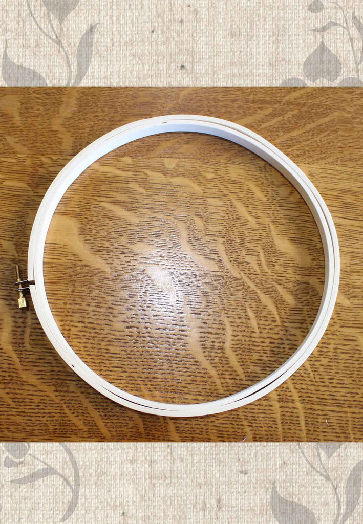 Buy Darice 8 inch wooden embroidery hoop at Raspberry Lane Crafts