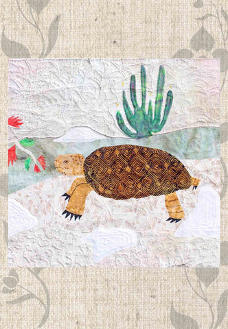 The Desert Tortoise Quilt Block Pattern