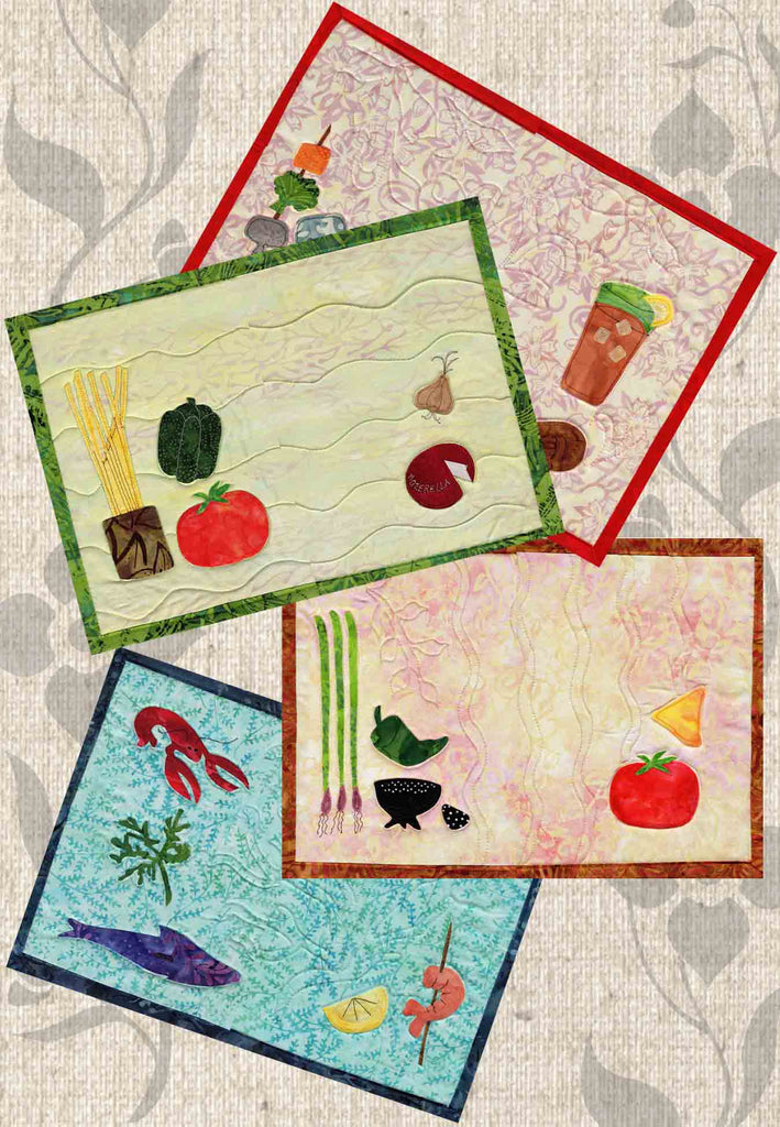 Dinner-On-Us Placemats Pattern
