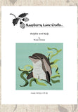 Buy dolphin cross-stitch pattern download at Raspberry Lane Crafts
