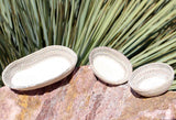 Neutral Southwest mini baskets set of three buy at Raspberry Lane Crafts Hand-Crafted Art Baskets