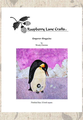 Emperor Penguins Quilt Pattern Download
