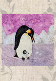 Emperor penguins quilt pattern for sale.