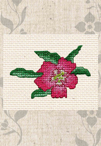 Simple Flower Collection Cross Stitch Pattern