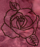 Rose Blooms Embroidery Digital Download