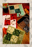 Buy potholder patterns at Raspberry Lane Crafts Fun and Fast Potholder quilt pattern.