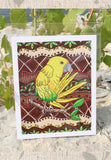 Golden Conure Art Print for Sale Yellow Parrot 8 x 10 inches.  Raspberry Lane Crafts.