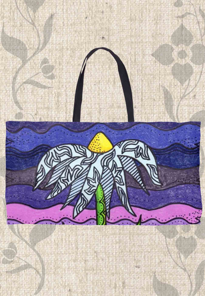 Purple Weekender Tote Bags for Sale