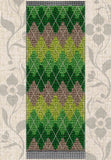 Buy Green Argyle Bookmark Cross Stitch Pattern at Raspberry Lane Crafts in the Jaguars to Chess Cross Stitch Pattern