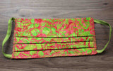 Grocery Store Face Mask - Hawaiian Watermelon Batik