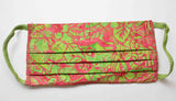 Hot pink and green watermelon fabric face masks for sale