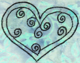 Buy gorgeous heart with swirls embroidery design pattern download at Raspberry Lane Crafts