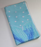 Blue hand towel accents.  Home Decor at Raspberry Lane Crafts.