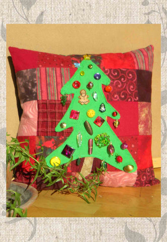 Holiday Pine Pillow Pattern