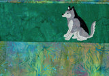 Siberian Husky Pillowcase Pattern