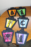 Halloween Lanterns quilt pattern for sale at Raspberry Lane Crafts
