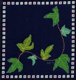 Ivy Leaves Needlebook Cross-Stitch Pattern for Sale by Wendy Christine.  Find at Raspberry Lane Crafts