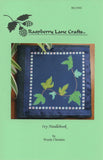Ivy Needlebook Cross Stitch Pattern