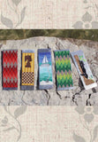 Cross Stitch Pattern Bookmarks with Perforated Paper Jaguar Chess Sailboat Argyle for Sale at Raspberry Lane Crafts