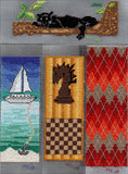Purchase Bookmark cross-stitch patterns at Raspberry Lane Crafts.  Digital Download E-Pattern.  For Sale