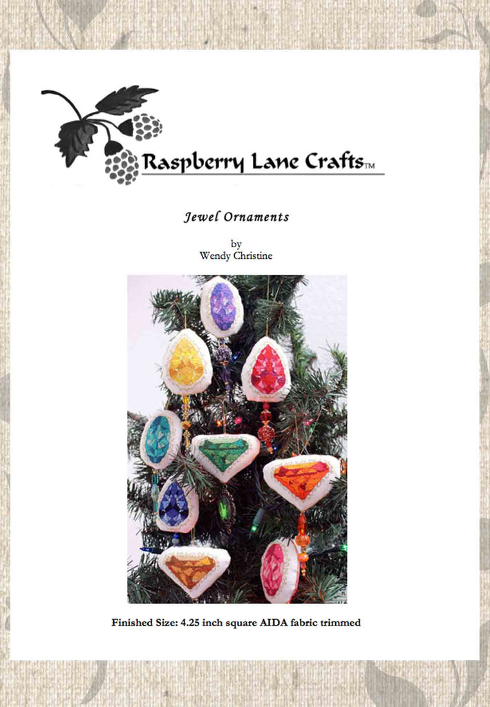 Buy Christmas Ornaments Cross Stitch Patterns at Raspberry Lane Crafts