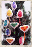Buy Jewel Gem Cross Stitch Pattern Ornaments at Raspberry Lane Crafts