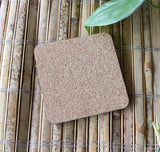 Masonite Cork coasters at Raspberry Lane Crafts