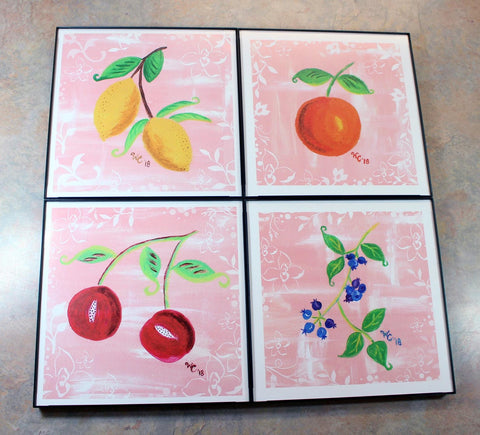 Jubilee Collection - Four Framed Print Set