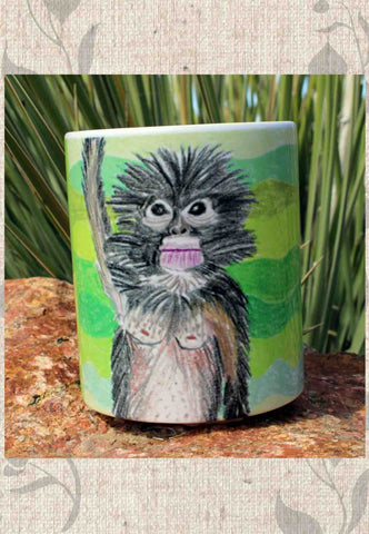 Jungle Monkey Mug