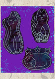 Buy Cats Embroidery Designs Pattern Download at Raspberry Lane Crafts