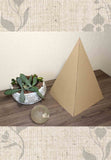 Buy Latte Paper Pyramid Decoration Sacred Geometry for the Home