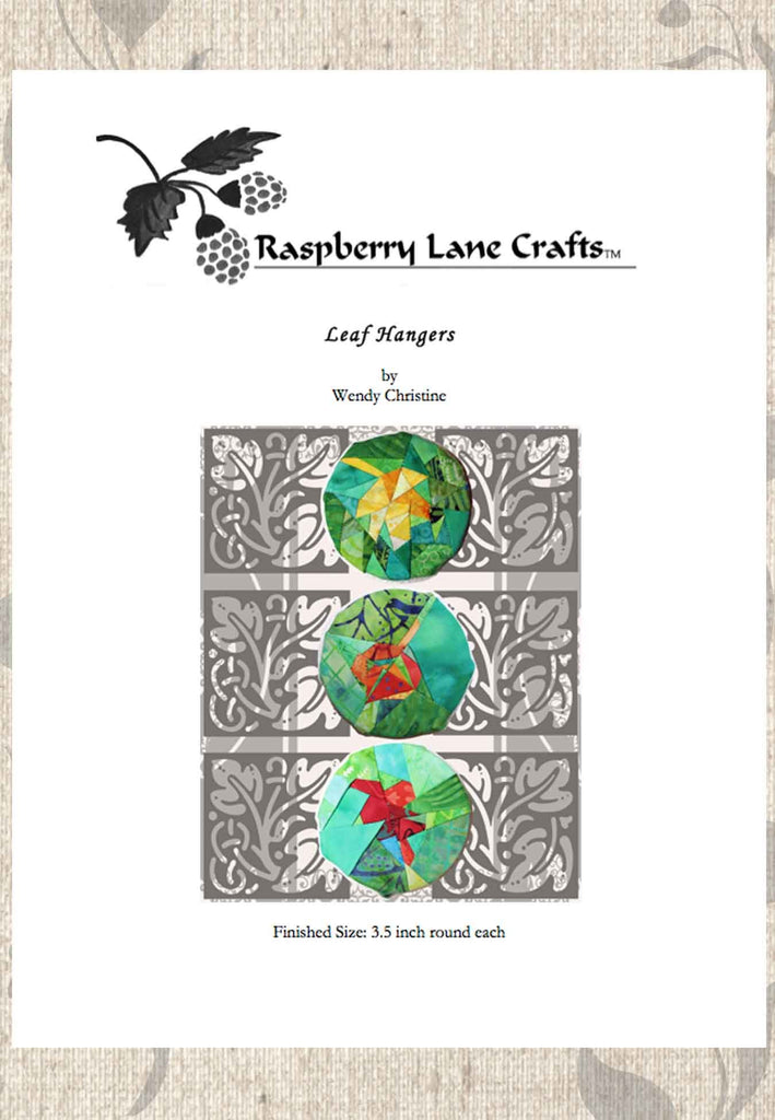 Buy beautiful fall leaves quilted pieced decoration pattern download at Raspberry Lane Crafts. No shipping on downloads!