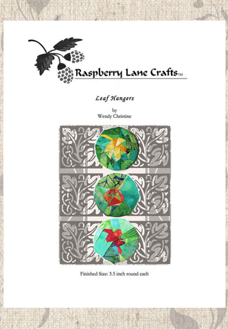 Leaf Hangers Pattern Download