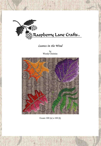 Leaves in the Wind Cross Stitch Download