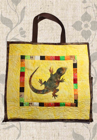 Lizard Shopping Bag Sewing Pattern