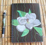 Magnolia Tree Blossom notebook and pen gift set by The Art of Wendy Christine