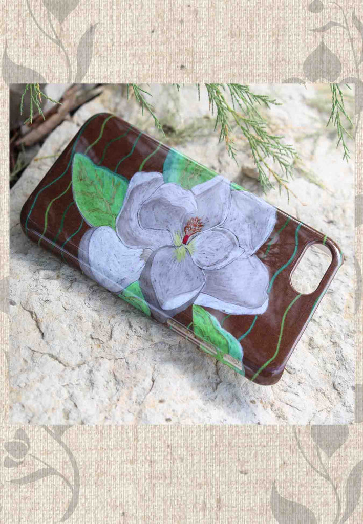 Buy iPhone 7 phone case Magnolia Tree Blossom Find Purchase