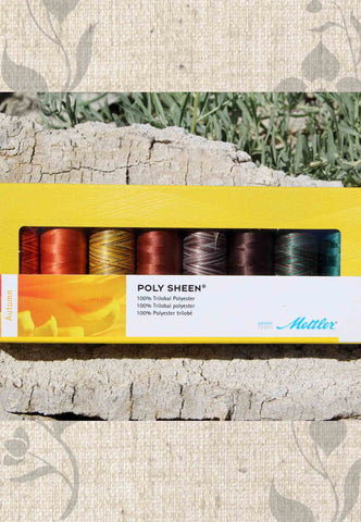 Mettler Thread Gift Set - Poly Sheen - Autumn