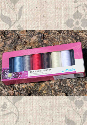 Mettler Thread Gift Set - Silk-Finish Cotton