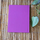 Mission Rose Hard Cover Journals have a beautiful purple back cover.  For sale at Raspberry Lane Crafts.