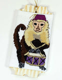 Buy Monkey Christmas Ornament Cross Stitch Pattern