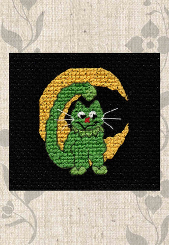 Halloween Night Collection Cross Stitch Pattern