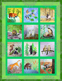 Mountain Habitats Collection: A Wilderness Animals Quilt Book Download