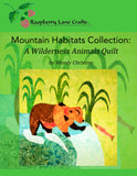 Mountain Habitats Collection: A Wilderness Animals Quilt Book Download by Wendy Christine