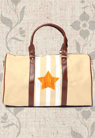 Orange Star Travel Bags