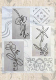 Orchid Flower Embroidery Designs for Sale