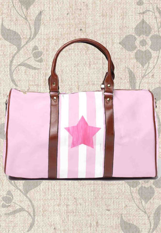 Pink Star Travel Bags
