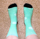 Parrot Green Dot Tribe Socks EP2P for Sale from Raspberry Lane Crafts